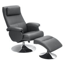 Hudson Recliner with Footstool
