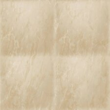 "Contemporary Faux Marble Textural Tiled Marble 32.97' x 20.8"" Wallpaper"