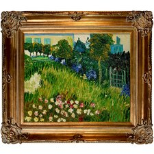 The Garden of Daubigny by Vincent Van Gogh Framed Painting