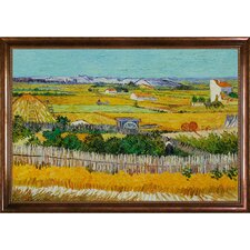 The Harvest by Vincent Van Gogh Framed Painting