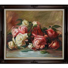 Discarded Roses by Pierre Auguste Renoir Framed Painting