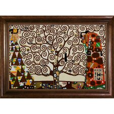 The Tree of Life, Stoclet Frieze, 1909 by Gustav Klimt Framed Painting