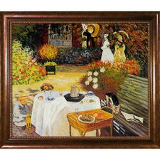 The Luncheon by Claude Monet Framed Painting