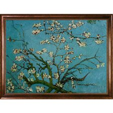 Branches of an Almond Tree in Blossom by Vincent Van Gogh Framed Painting