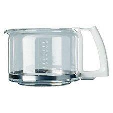 Glaskrug für Kaffeeautomat 140 / 145 / 464 in Weiß