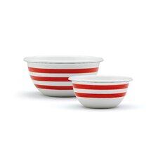 Vintage 2 Piece Mixing Bowl Set