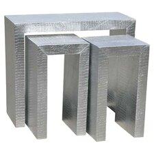 Moc Croc 2 Piece Nest of Tables