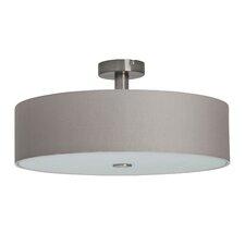 Gentle 4 Light Semi Flush Ceiling Light