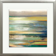 """Evening Tide I"" by Tom Reeves Framed Painting Print"
