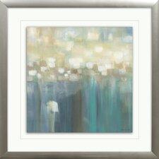 'Aqua Light' Framed Painting Print