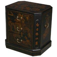 Handmade Oriental Antique End Table