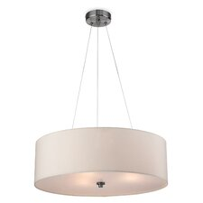 Coello 3 Light Drum Pendant Light