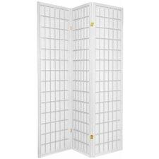 "Chantae Shoji Style 70.5"" x 51"" 3 Panel Room Divider"