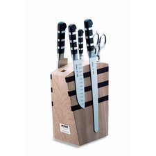 Piece Magnetic 5-Piece 1905 5  Knife Block Set