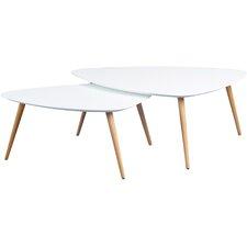 Cacto 2 Piece Niko Coffee Table Set