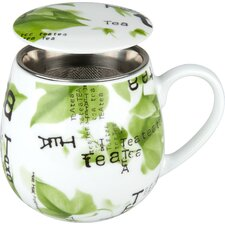 8,9 cm Tea for you Tea Collage aus Porzellan