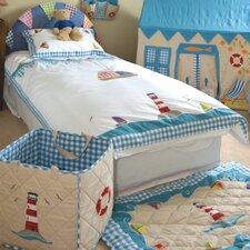 2-tlg. Kleinkind Bettdecken-Set Bootshaus