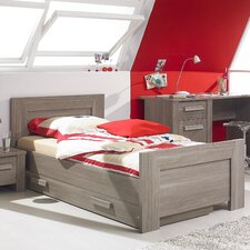 Hangun European Single Storage Bed