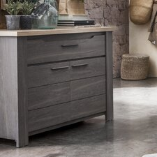 Toscane 2 Door and 1 Drawer Storage Cabinet