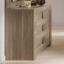Moka 3 Drawer Sideboard