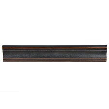 "Milton 12"" x 2"" Chair Rail Tile Trim in Onda Venetian Bronze (Set of 5)"