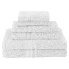 Hyde 6 Piece Cotton Towel Set