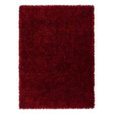 Handgetufteter Teppich Feeling in Rot