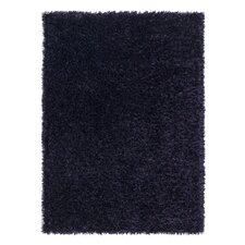 Handgetufteter Teppich Feeling-Lila in Blau