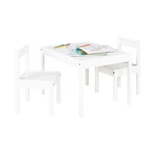 Sina 3 Piece Table And Chairs Set
