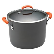 Hard Anodized II 10 Qt. Stock Pot with Lid