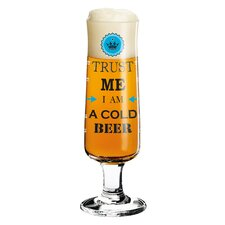 0.3 L Bierglas Beer mit Bierdeckeln