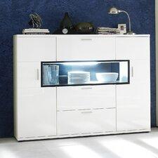 Corano Solid Wood Display Cabinet