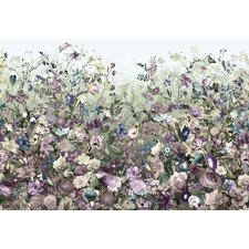 Botanica 2.5m L x 368cm W Floral and Botanical Tile/Panel Wallpaper