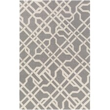 Marigold Catherine Hand-Crafted Gray Area Rug