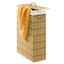 Fill-In Wicker Laundry Bin