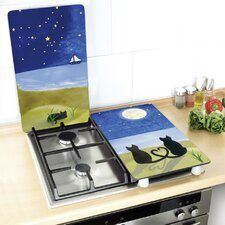 Cat Universal Hob Cover (Set of 2)