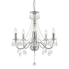 William 5 Light Candle Chandelier