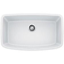 "Valea 32"" x 19"" Super Single Undermount Kitchen Sink"
