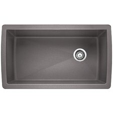 "Diamond 33.5"" x 18.5"" Undermount Kitchen Sink"