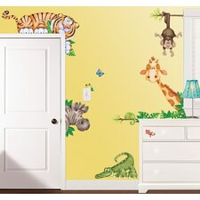 QUICK VIEW. In the Jungle Super Jumbo Appliqué Wall Decal