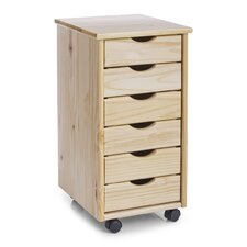 6-Drawer Roll Container