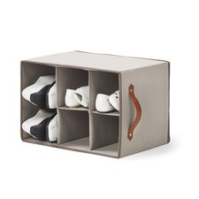 Greystone 2 Compartment Shoe Rack