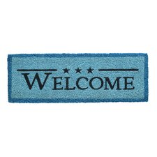 Ruco Print Welcome Message Doormat