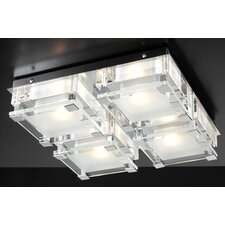 Corteo 4-Light Semi Flush Mount