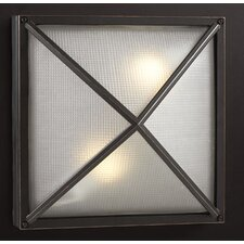Danza-II 2-Light Outdoor Flush Mount