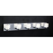 Glacier 5-Light Vanity Light