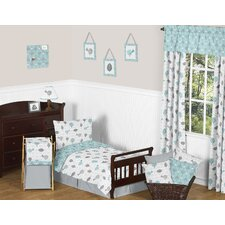Earth and Sky 5 Piece Toddler Bedding Set