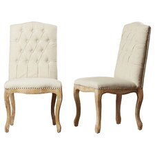 Cathrine Tufted Parsons Chair (Set of 2)