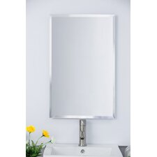 "16.75"" x 26.75"" Recessed or Surface Mount Medicine Cabinet"