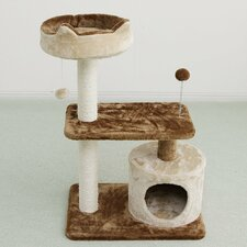 """35"""" Carpeted Cat Tree"""